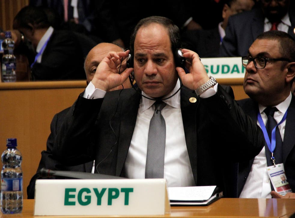 President Sisi's latest comments have angered civil rights charities