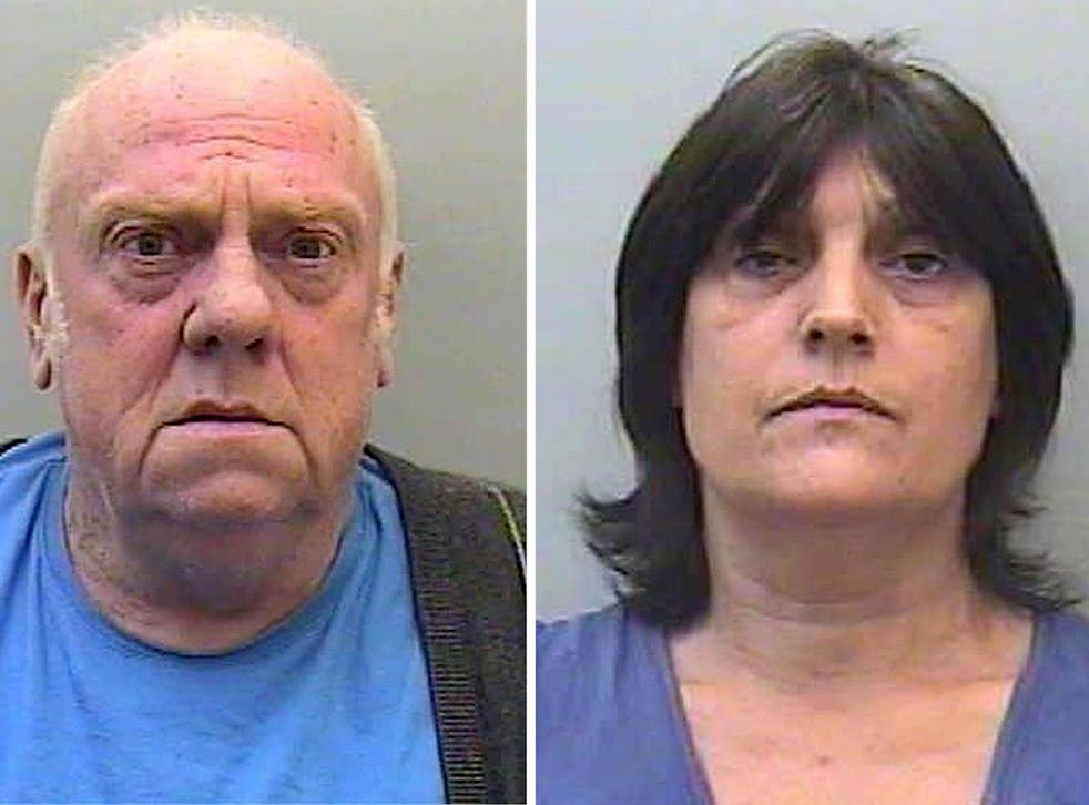David and Pauline Williams (pictured) were friends with Fred and Rose West