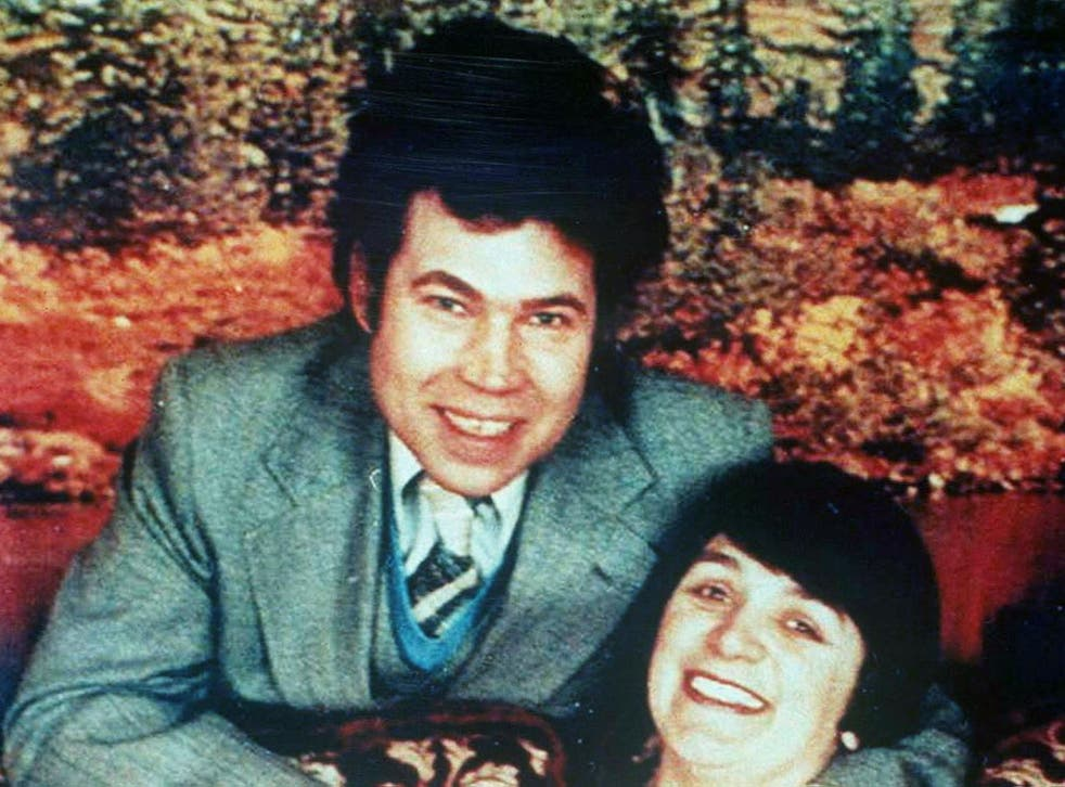 Fred and Rose West pictured in 1994