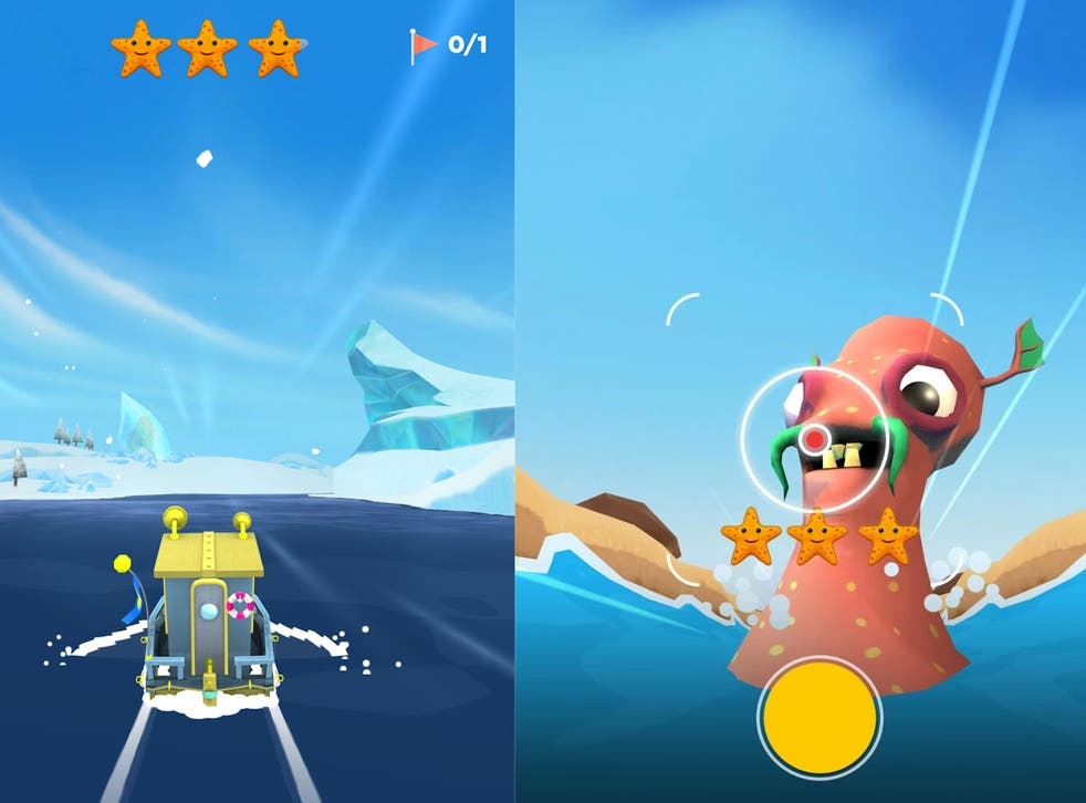The game sees the player sailing across the sea, snapping pictures of mysterious monsters