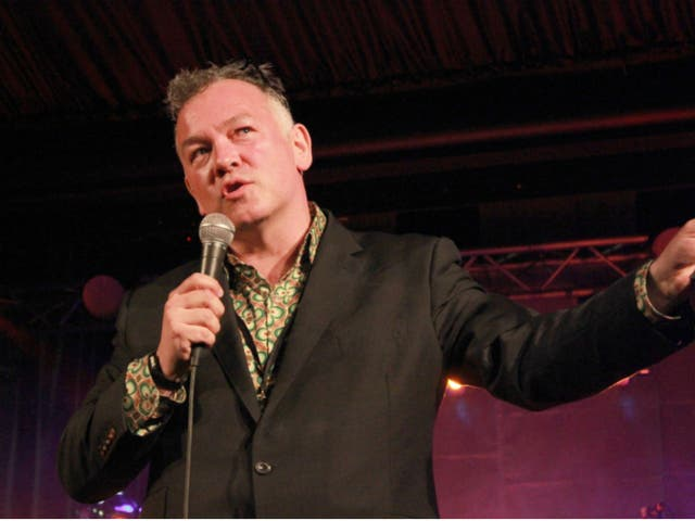 Stewart Lee at his curated All Tomorrow's Parties weekender
