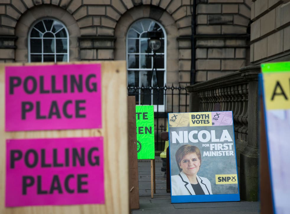 At polling stations in Edinburgh, as across the country, Nicola Sturgeon's SNP is expected to dominate  the voting