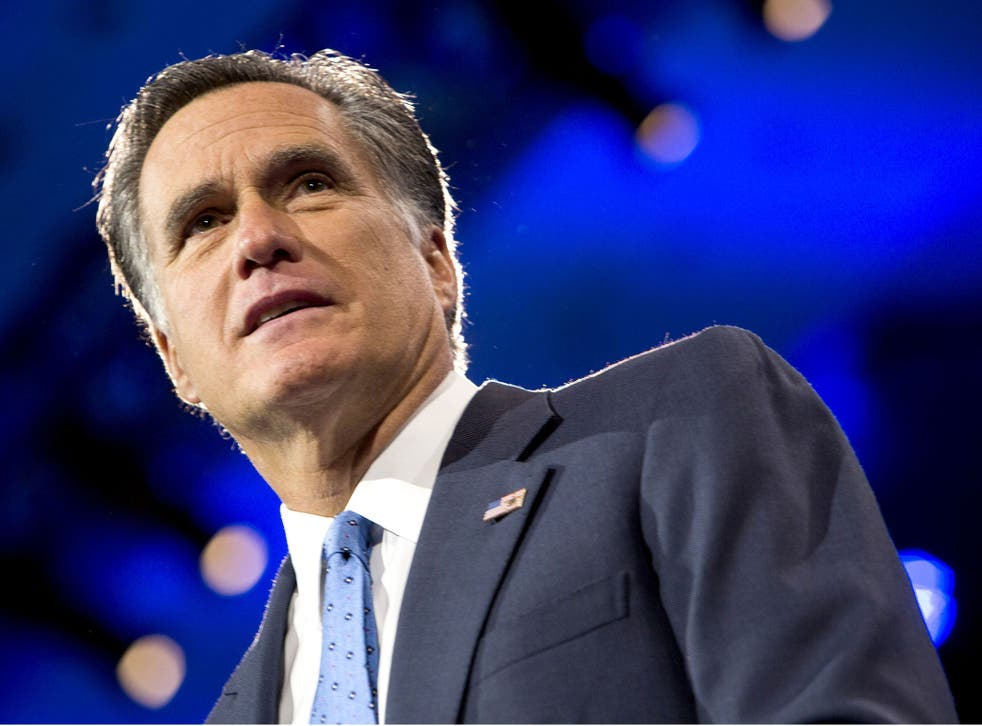 Mitt Romney was roundly ridiculed after he said he was handed 'binders full of women' during a 2012 presidential election debate