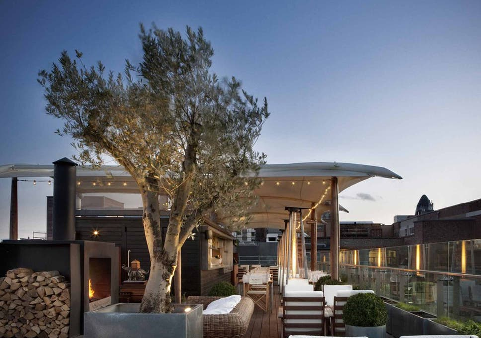 Cool Place Of The Day Boundary Rooftop Bar Restaurant