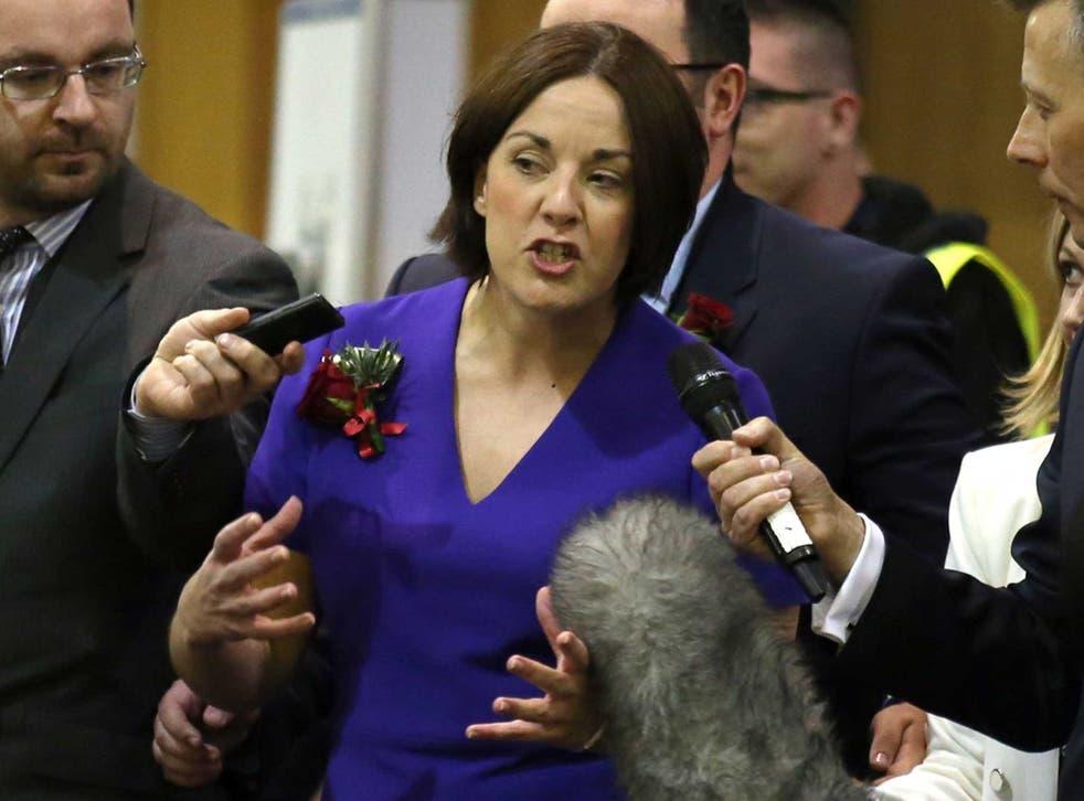 Scottish Labour leader Kezia Dugdale is backing Owen Smith