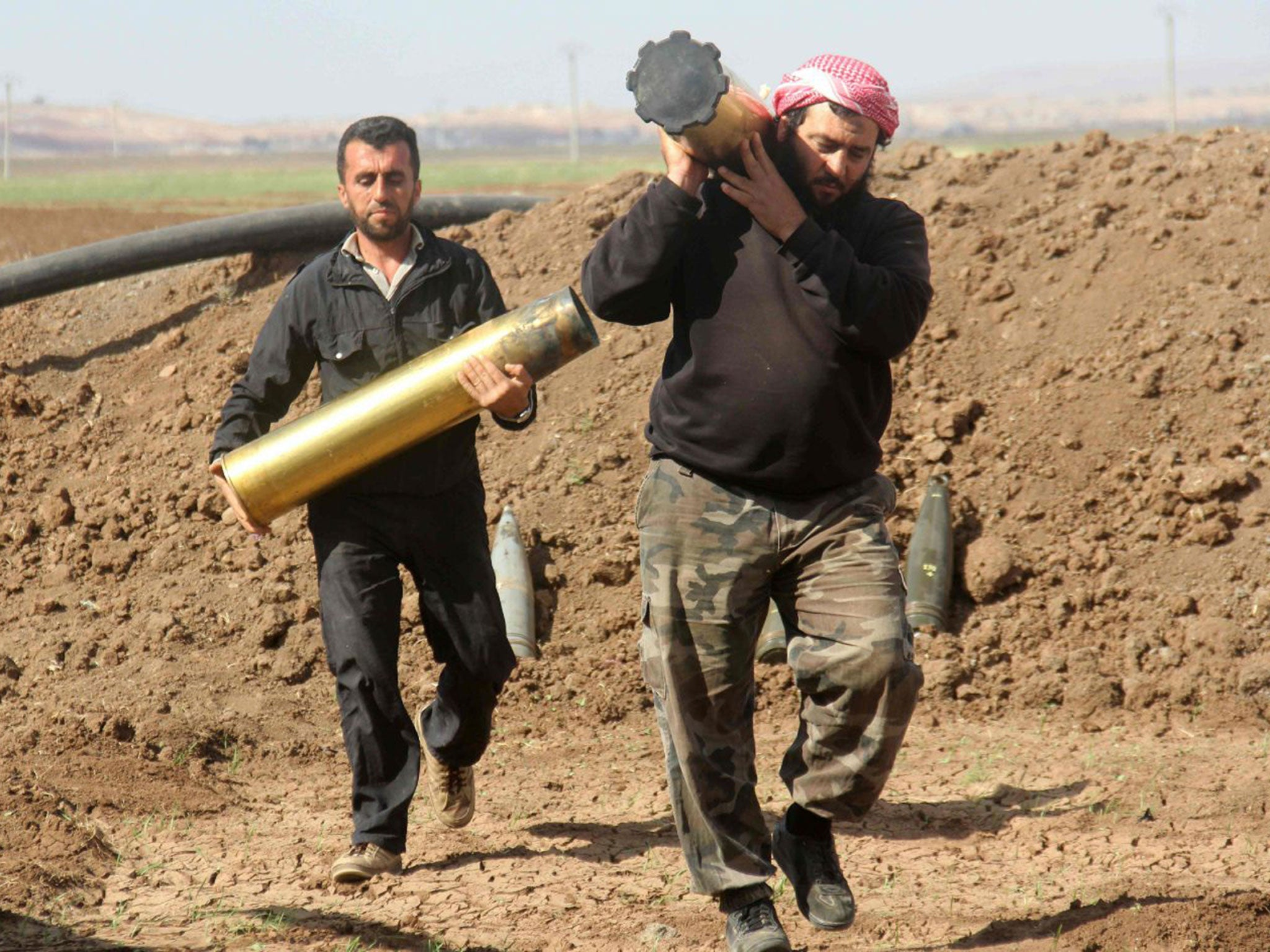 syrian civil war clashes between assad troops and