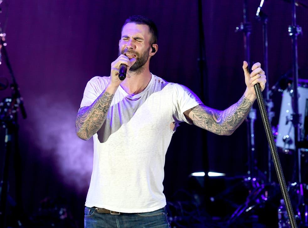 Maroon 5 frontman Adam Levine