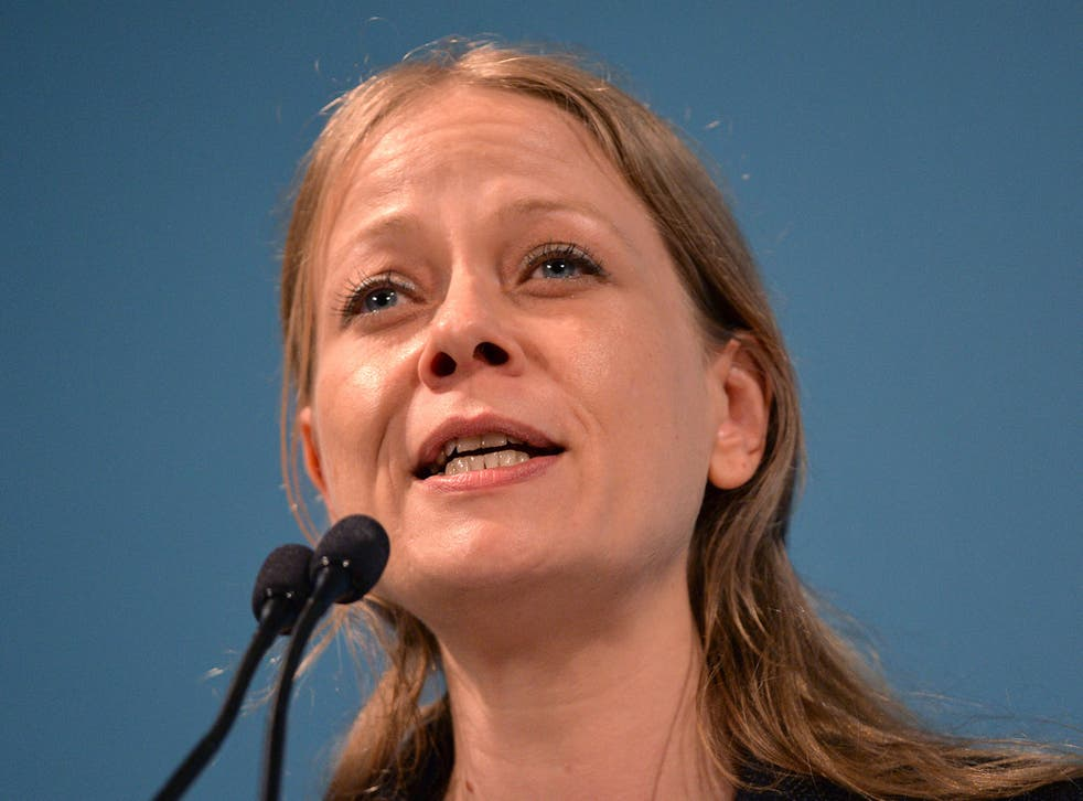 Sian Berry, the Green Party's London Mayoral Candidate