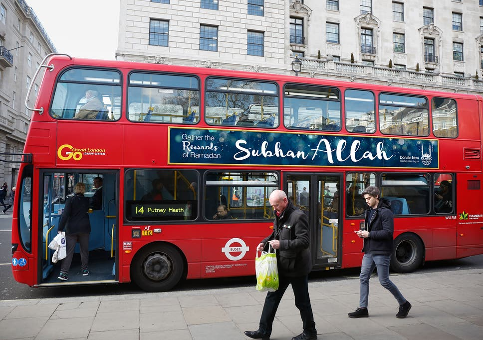 Muslim charity to put 'Allah is great' posters on buses to