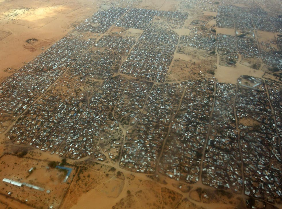 Dagahaley refugee camp makes up part of the Dadaab settlement