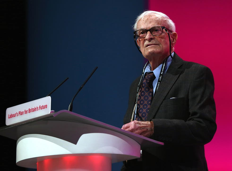 Campaigner Harry Leslie Smith is one of several Second World War veterans to come out for the Remain side
