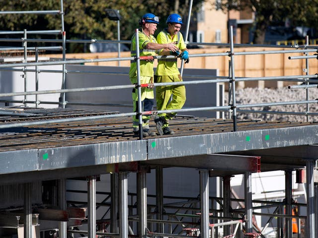 Construction workers make up a significant proportion of the UK's army of self-employed workers.