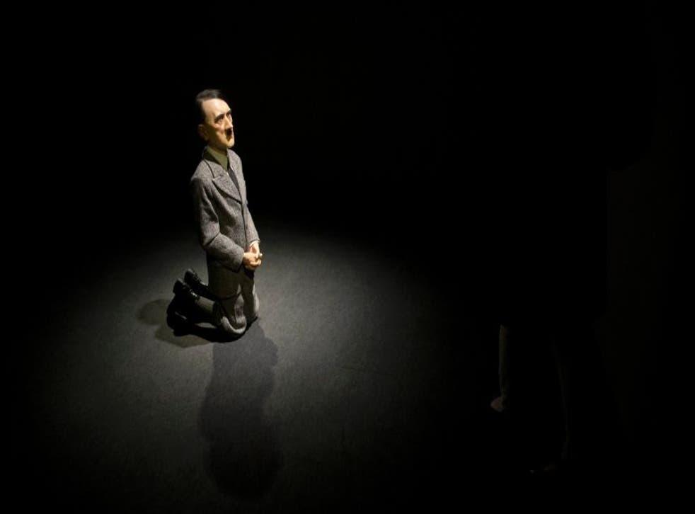 Maurizio Cattelan's Hitler statue, Him