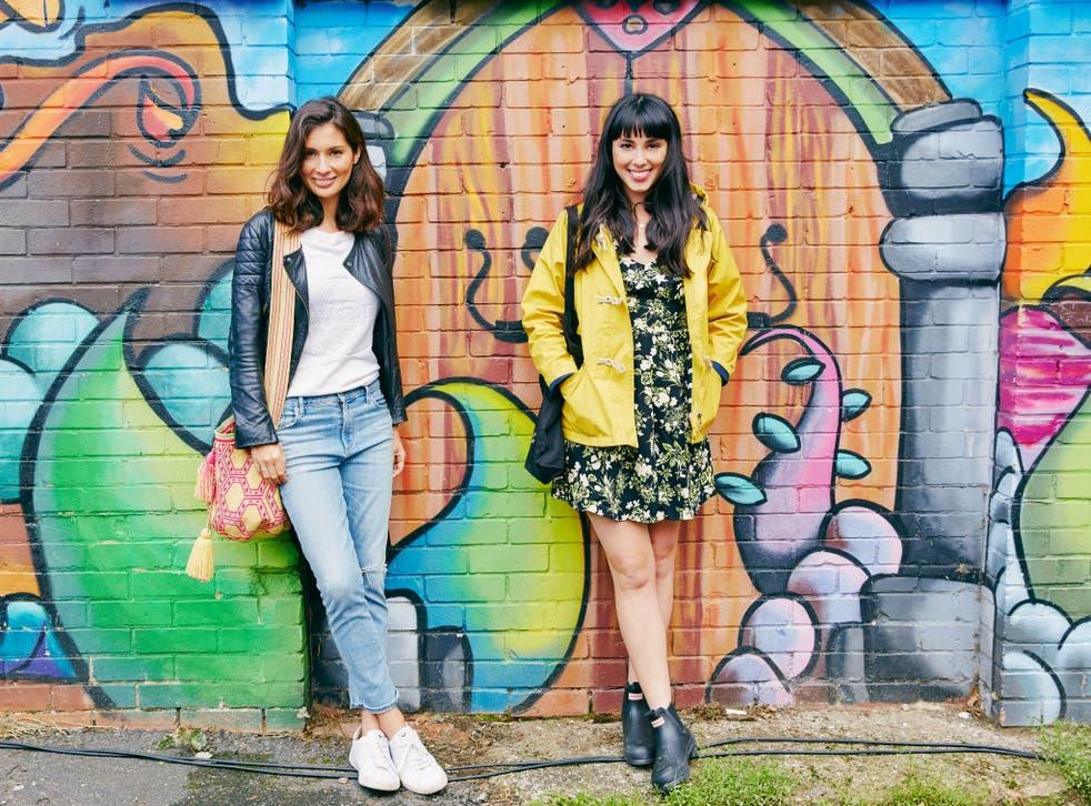 Jasmine (L) and Melissa Hemsley