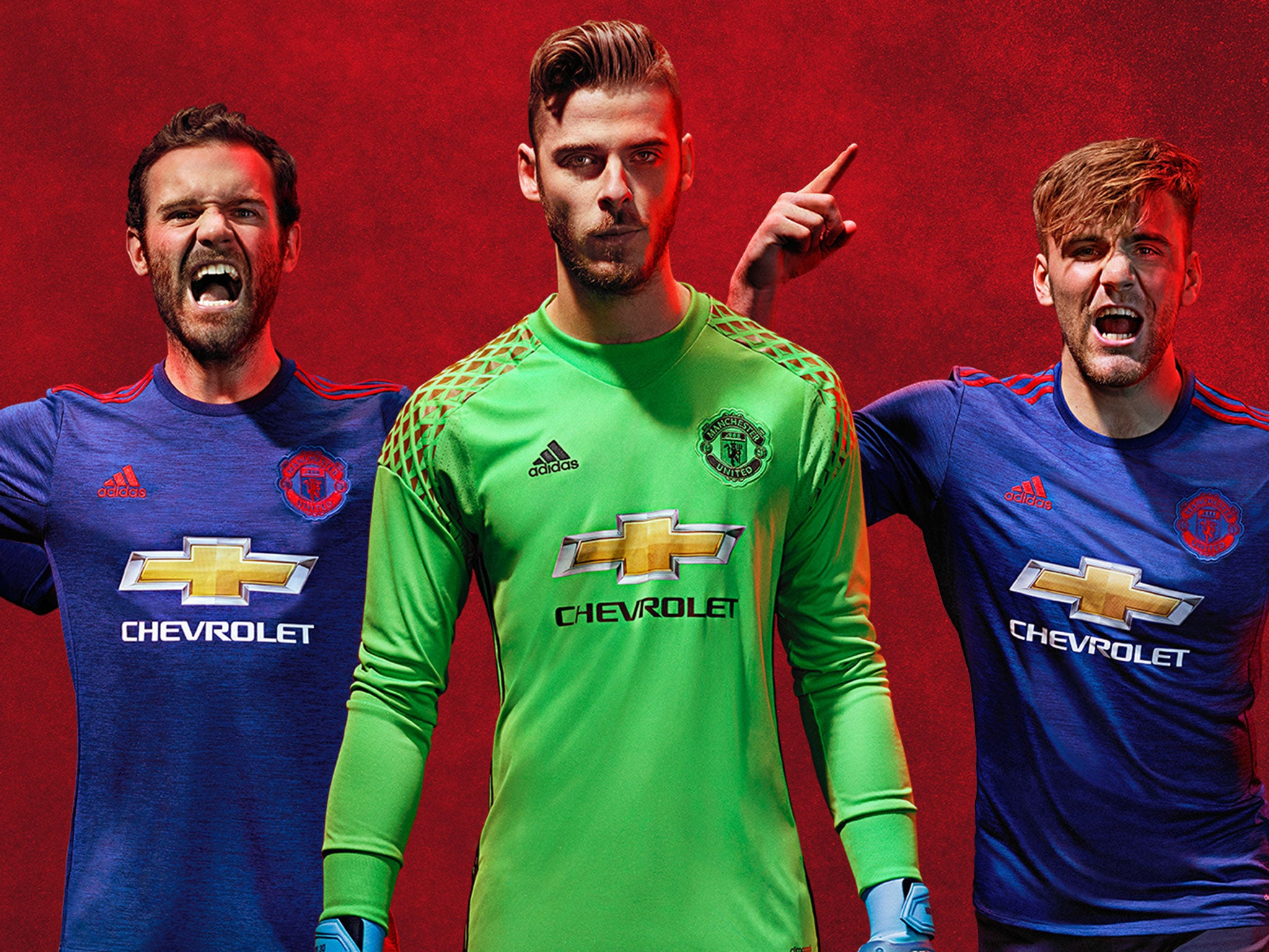 save off 179cc 9c3a5 Manchester United away kit revealed: Moody David De Gea ...
