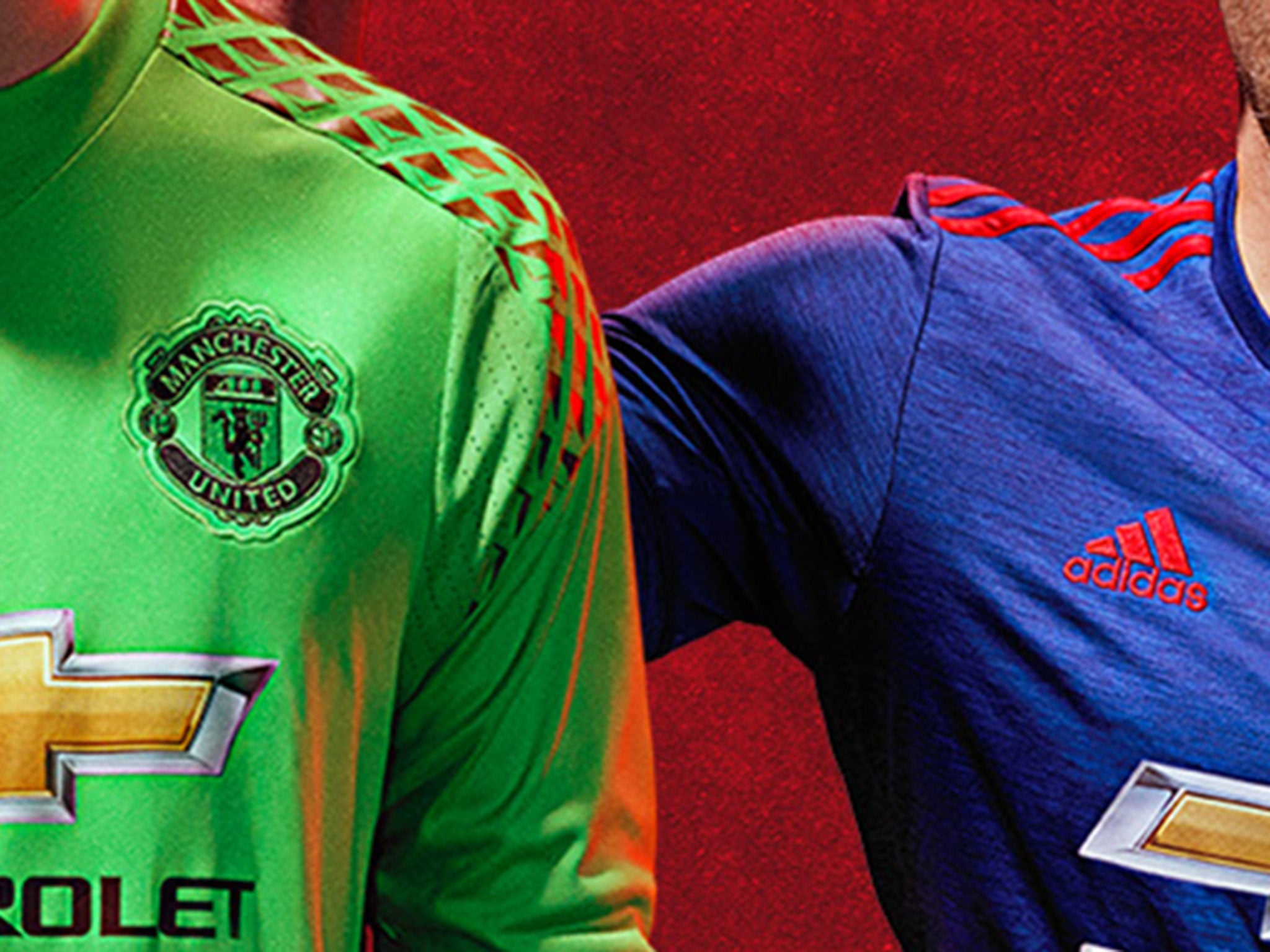 Manchester United away kit revealed: Moody David De Gea