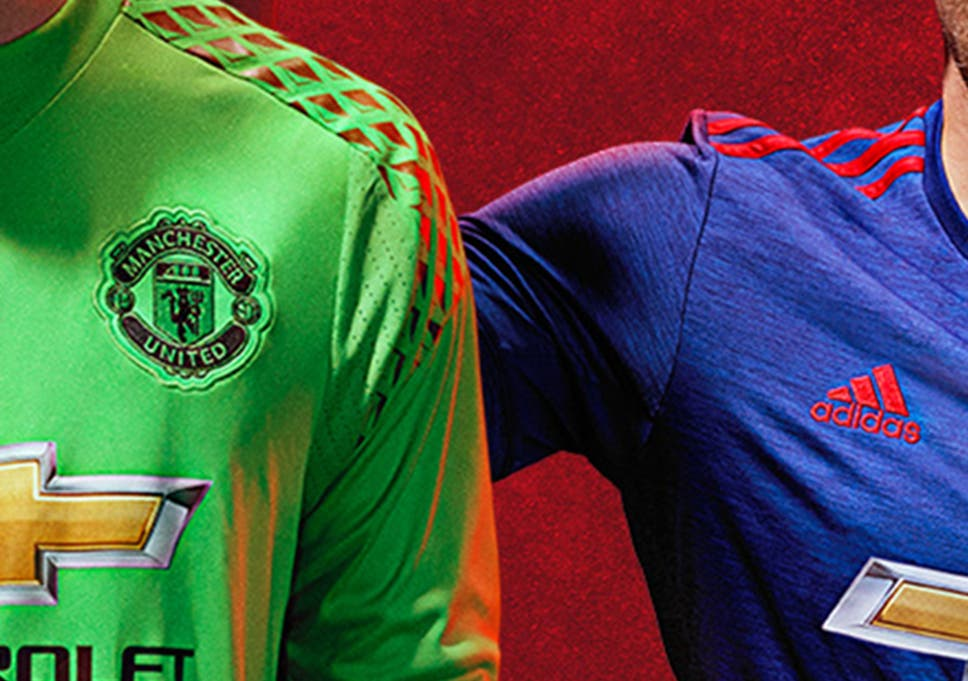 save off 77551 d4b81 Manchester United away kit revealed: Moody David De Gea ...