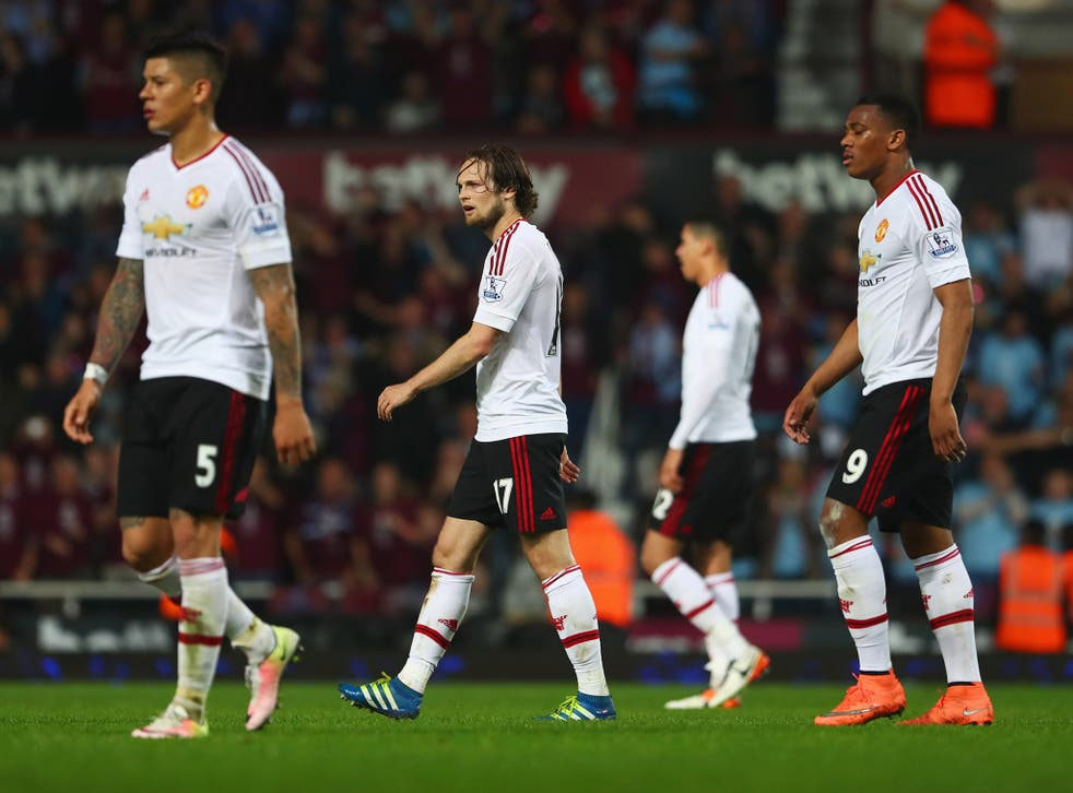 Louis Van Gaal has persisted with Daley Blind at centre-back recently but it cost his side on Tuesday night.
