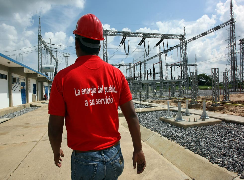 The vast majority of Venezuela's power comes from its hydroelectricity plants