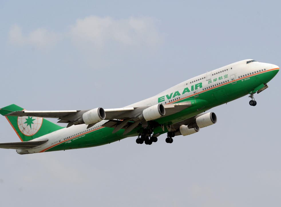 An Eva Air flight was given the wrong directions