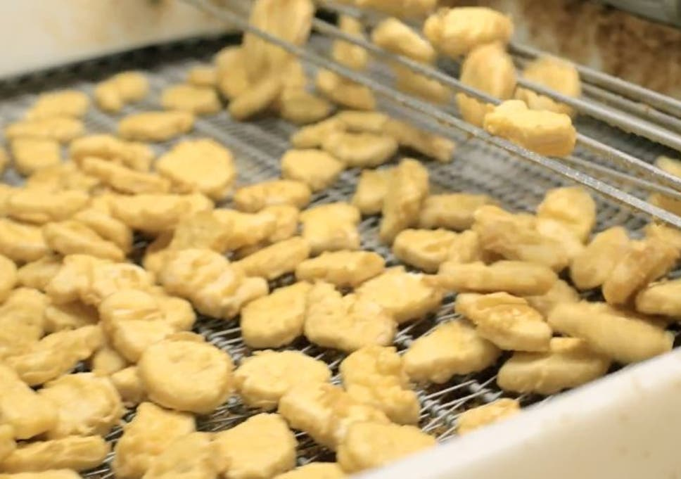 How Mcdonalds Chicken Nuggets Are Made The Independent