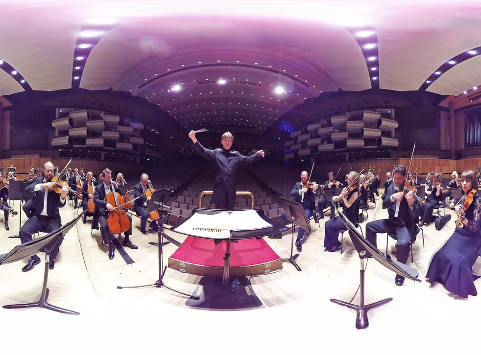 A virtual reality performance by the Philharmonia Orchestra