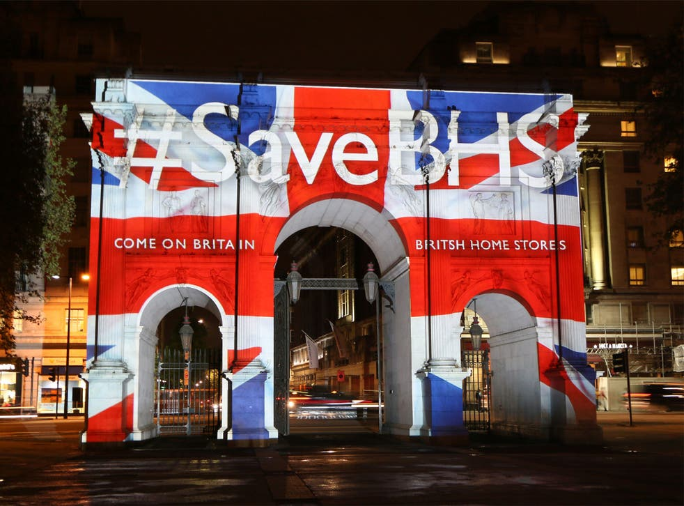 All of BHS's 163 stores will all be in close down or sale mode over the coming weeks.