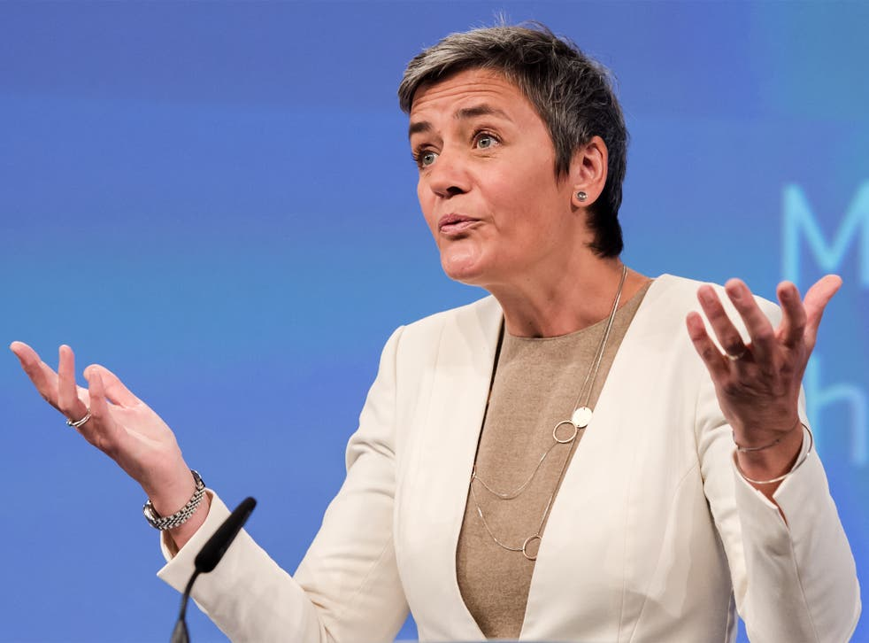 Squaring up to the tech titans: EU competition watchdog Margrethe Vestager