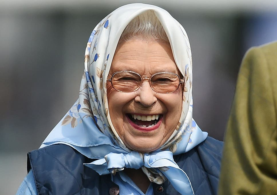 The Queen Visibly Thrilled After Winning A Tesco Voucher At Royal