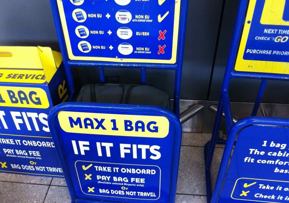 misure bagaglio a mano ryanair BCD Travel Italia