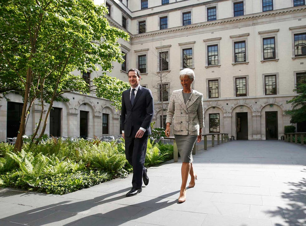 The IMF managing director Christine Lagarde has already warned of the risk of recession in the event of Brexit