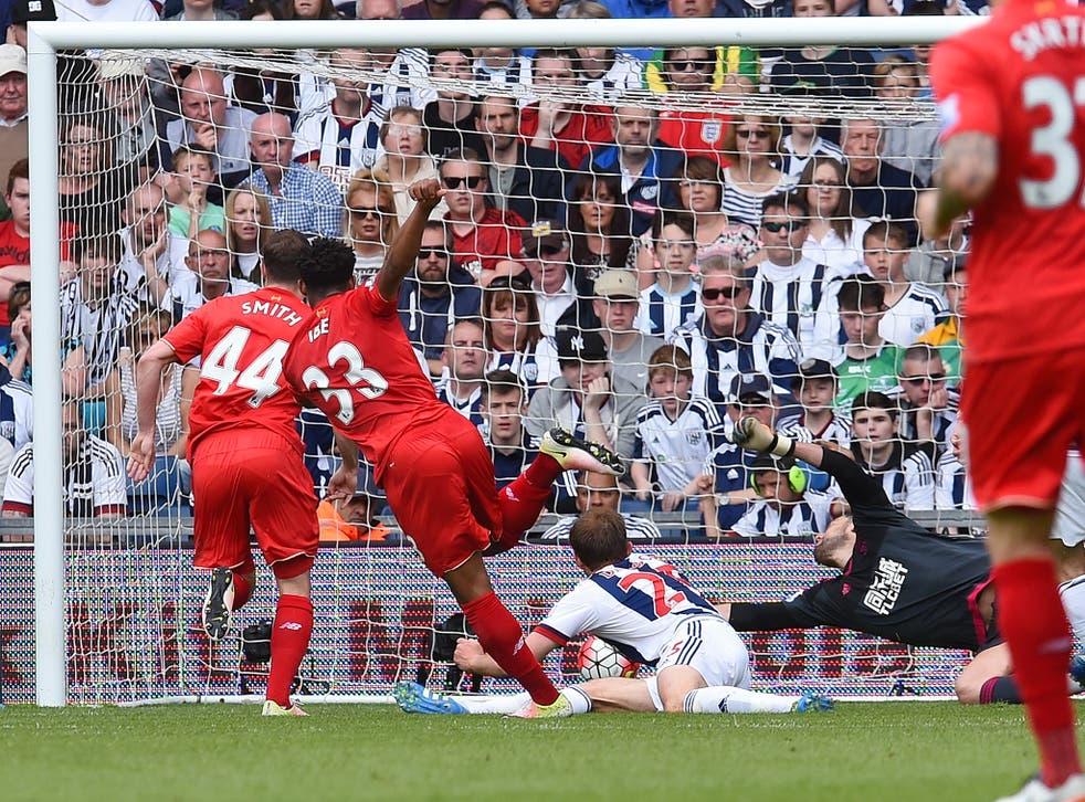 Jordon Ibe scores for Liverpool