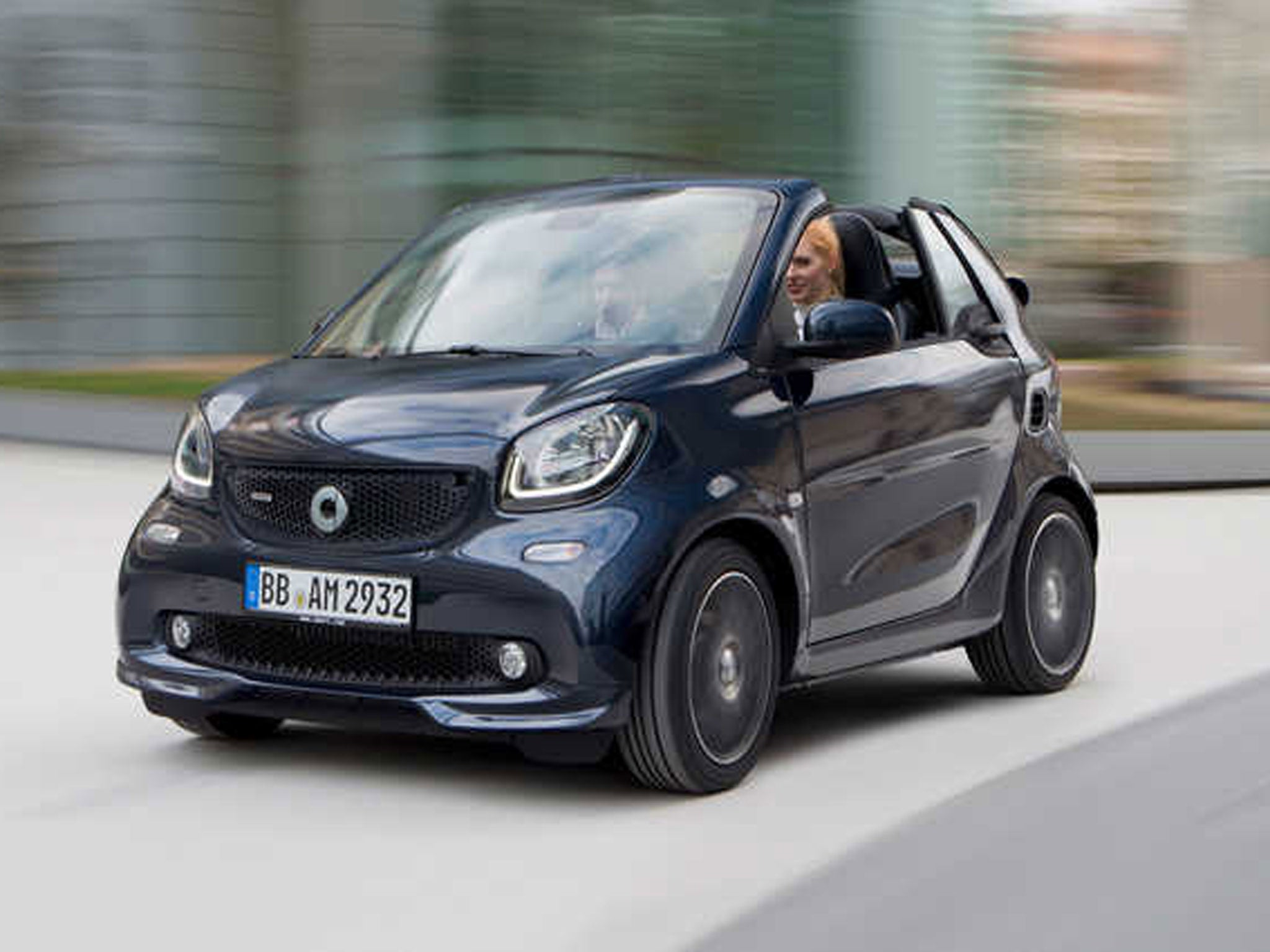 smart fortwo and forfour get brabus makeover with more power and style the independent. Black Bedroom Furniture Sets. Home Design Ideas