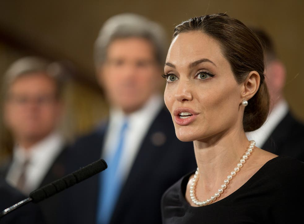 Angelina Jolie-Pitt serves as Special Envoy for the United Nations High Commissioner for Refugees <em>WPA/Getty</em>