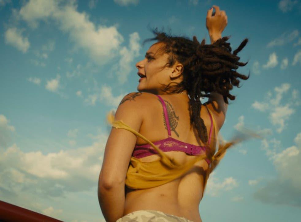 Actress Sasha Lane in American Honey