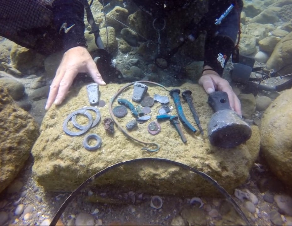 Spectacular discovery of ancient shipwreck in Caesarea