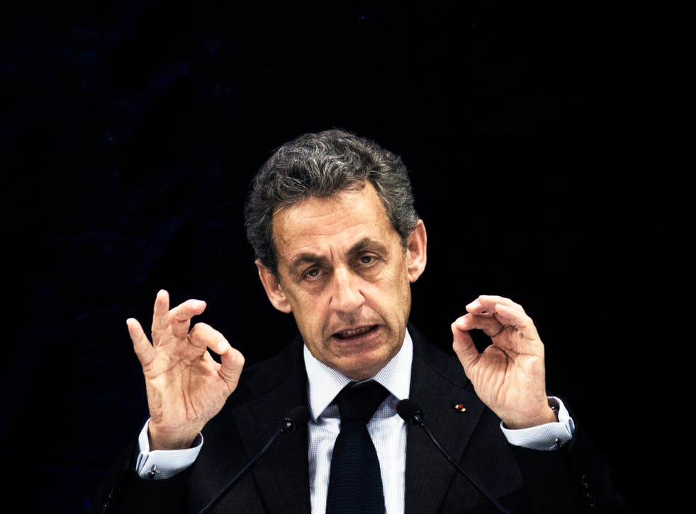The former French leader and presidential hopeful said Britain must deal with asylum seekers domestically