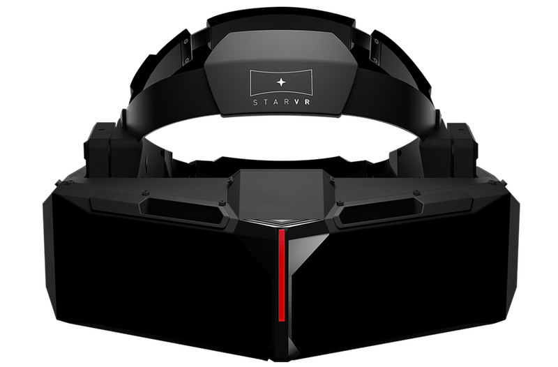 The StarVR headset could be the future of theme park rollercoasters