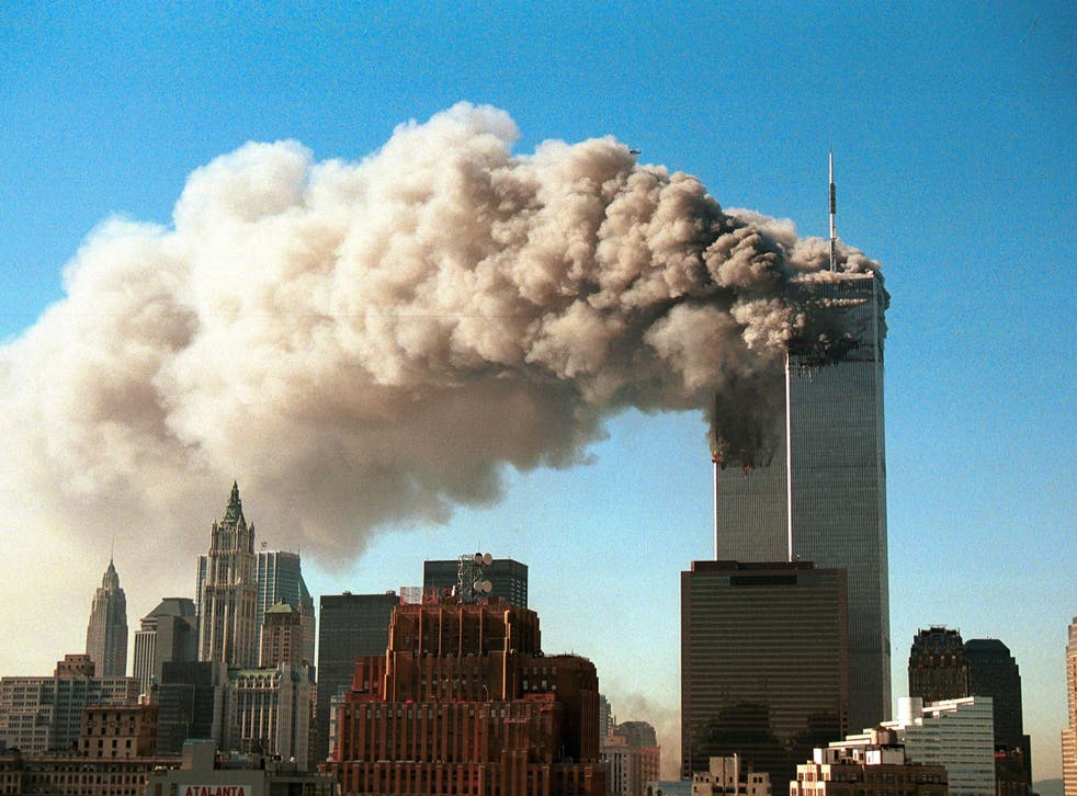 <p>The immediate aftermath of the 9/11 terror attack </p>