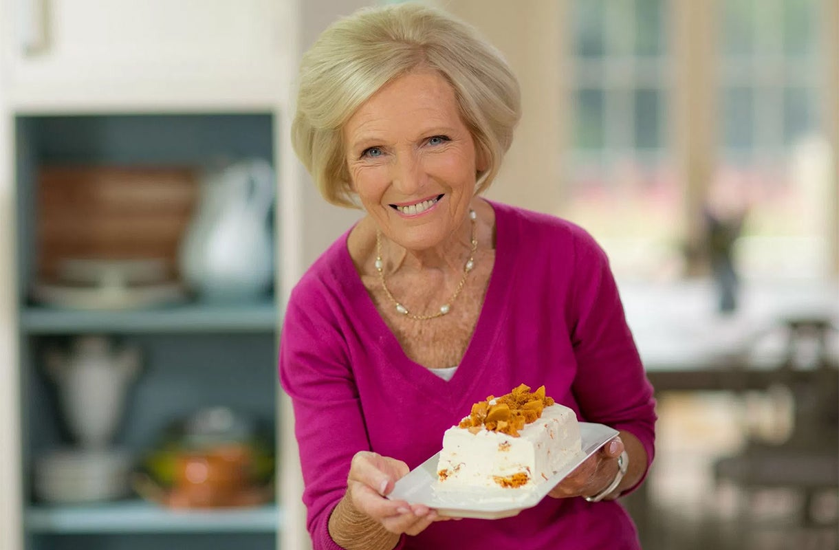 Mary berry and gregg wallace are turning deep fat frying for Mary berry uk