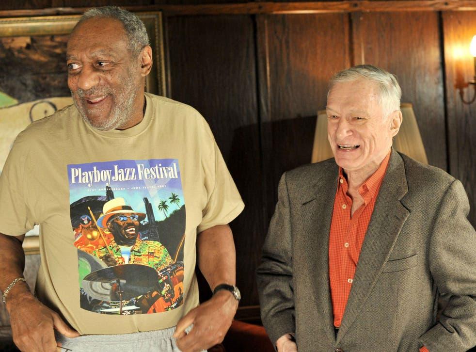 Bill Cosby and Hugh Hefner