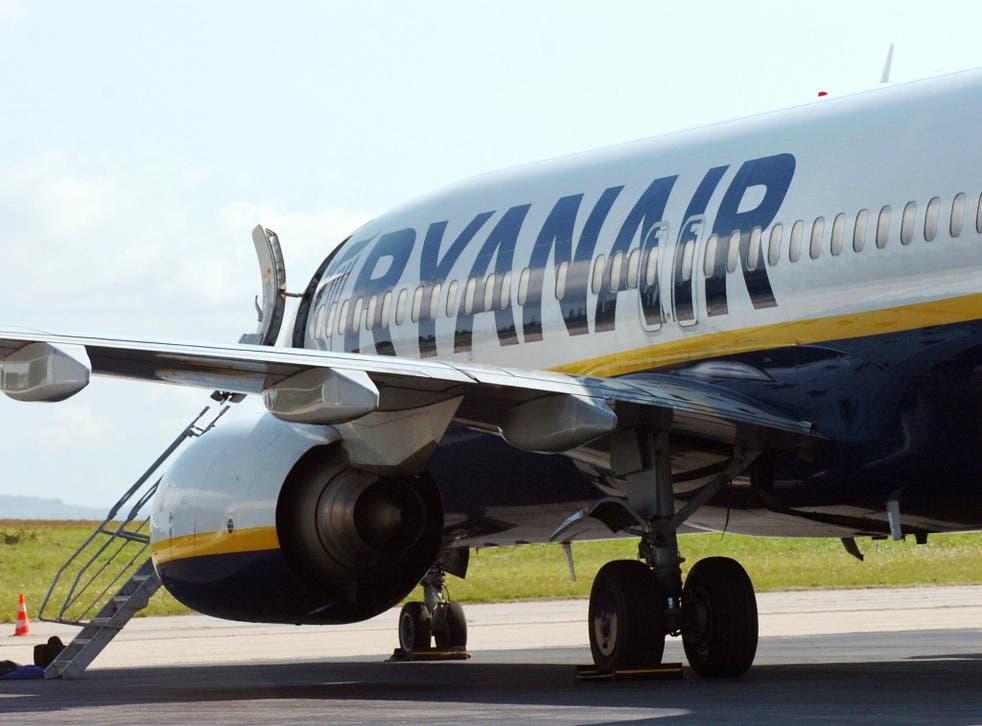 Ryanair has cancelled 70 flights on Thursday