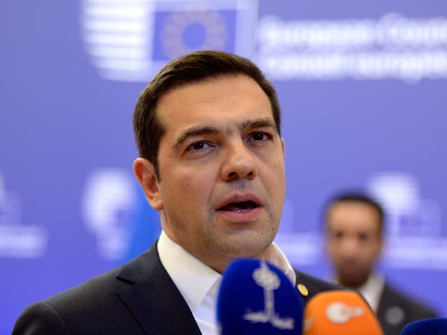 Alexis Tsipras rebuffed a request that he draw up plans for further austerity cuts