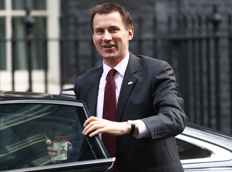 Jeremy Hunt described the deal as a 'definitive step forward' for the NHS
