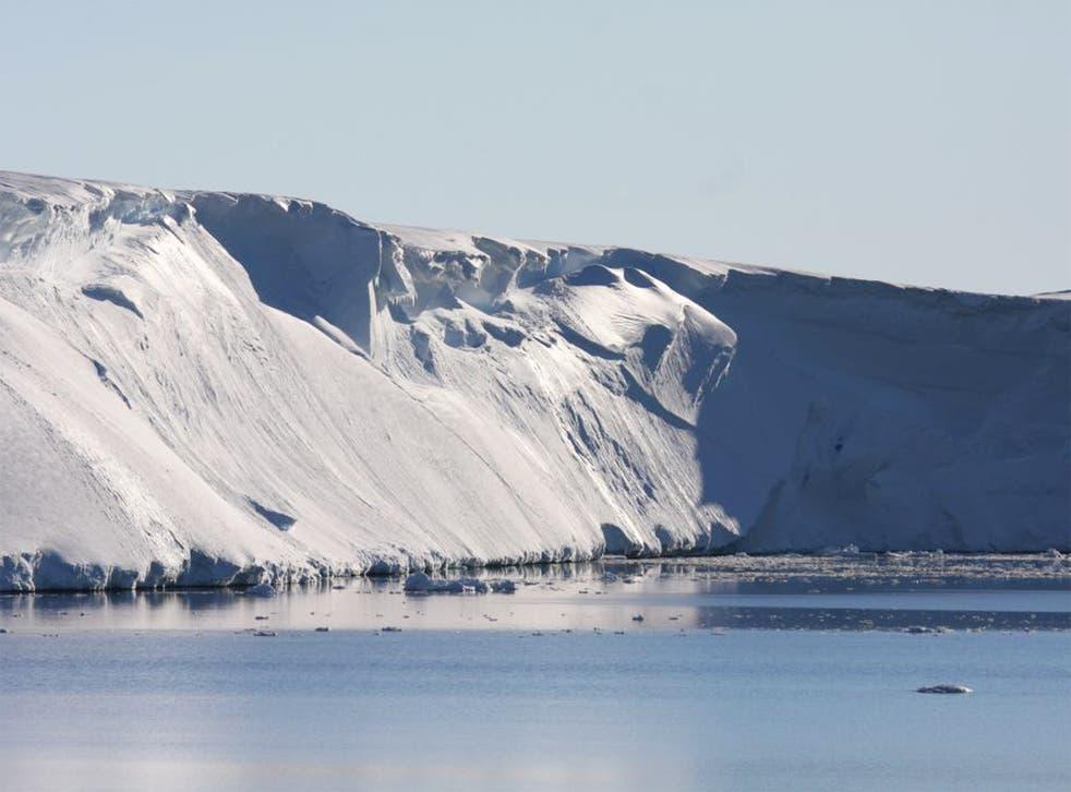 The Totten Glacier in eastern Antarctica