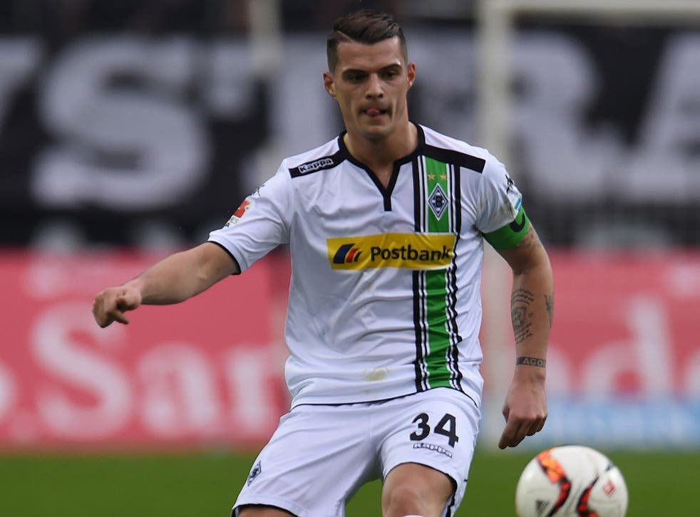 Granit Xhaka is on the verge of joining Arsenal