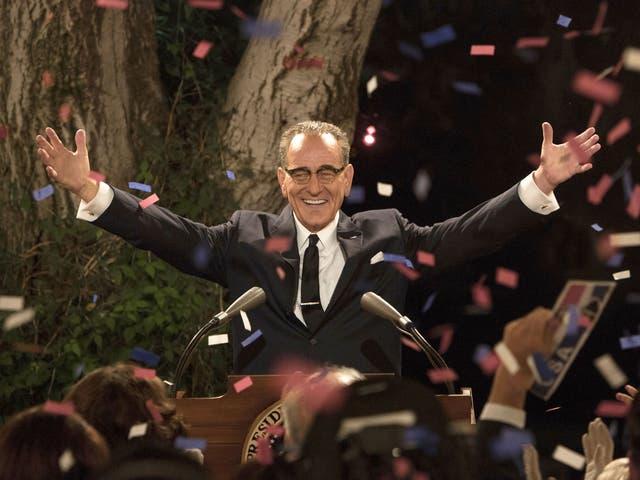 Bryan Cranston as President Lyndon B Johnson in HBO's 'All the Way'
