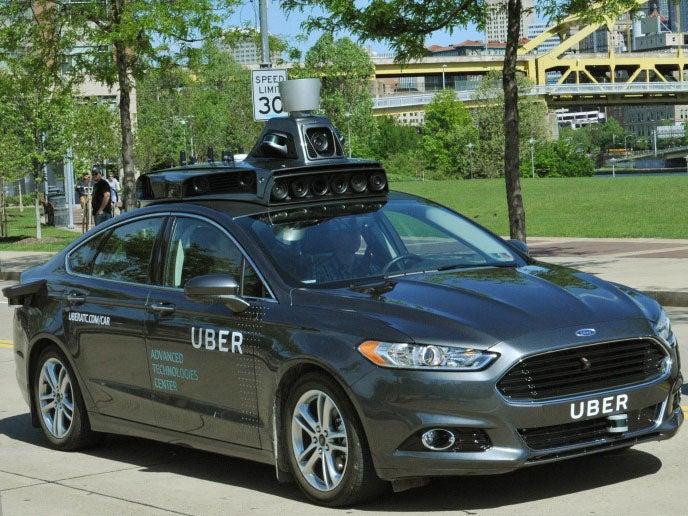 Uber self-driving cars begin testing in Pittsburgh