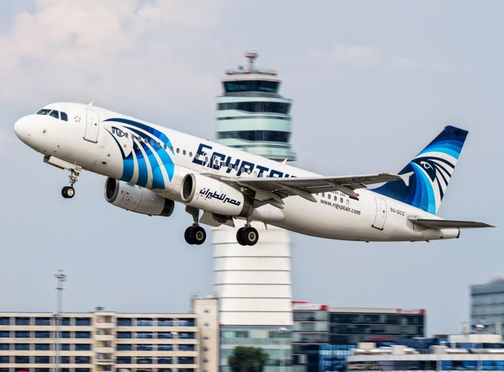 The crashed EgyptAir plane, an Airbus A320 registration SU-GCC, is seen here taking off from Vienna in August 2015