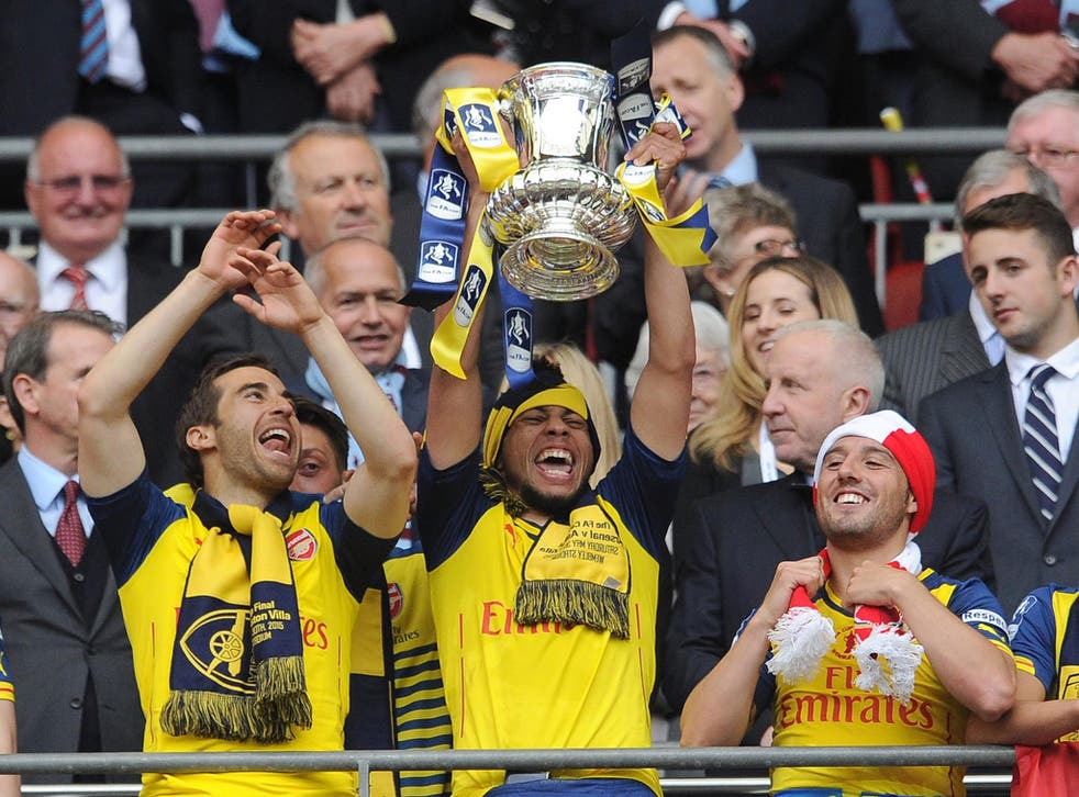 Arsenal won the FA Cup last year, beating Aston Villa 4-0 in the final